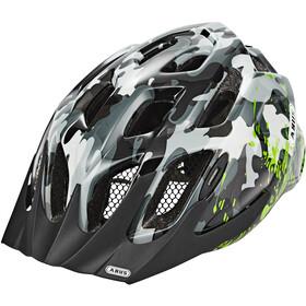 ABUS MountX Helmet Kinder grey camouflage